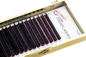 Rzęsy silk DREAM LASHES 0,075 skręt D +